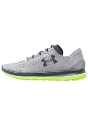 Under Armour Speedform Slingride Lightweight Running Shoes Glacier Gray Hyper Green Gray Grey