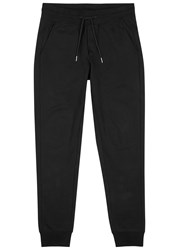 Moncler Black Cotton Jogging Trousers