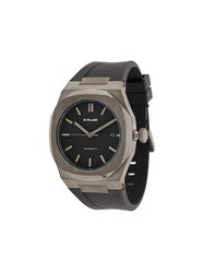 D1 Milano P701 41.5 Mm Watch Black
