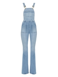 Frame Denim Le High Flared Leg Dungarees