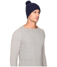 Ugg Ribbed Cuff Hat Navy Beanies