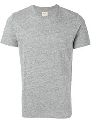 Bellerose Crew Neck T Shirt Grey