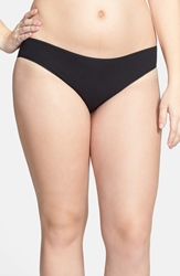 Nordstrom Cotton Blend Bikini Plus Size 3 For 25 Black