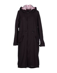 Julien David Coats And Jackets Coats Women Dark Brown