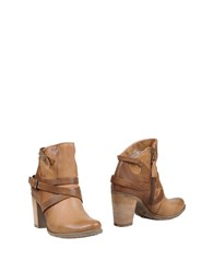 Mjus Ankle Boots Brown