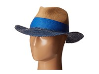 Echo Color Block Panama Beach Hat Navy Caps