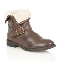 Lotus Annabeth Ankle Boots Brown