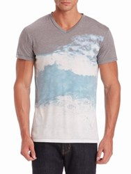 Sol Angeles Faded Print Tee Moonlight