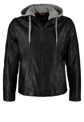 Tom Tailor Denim Faux Leather Jacket Black