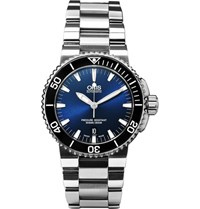 Oris Aquis Date Stainless Steel Automatic Watch Navy