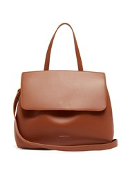 Mansur Gavriel Lady Drawstring Leather Bag Tan