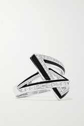 Stephen Webster Vertigo Obtuse 18 Karat White Gold