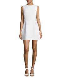 French Connection Sleeveless A Line Mini Dress Saltwater