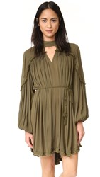 Ministry Of Style In The Fray Dress Khaki