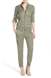 Women's Hudson Jeans 'Ryder' Stretch Cotton Utility Jumpsuit Yucca