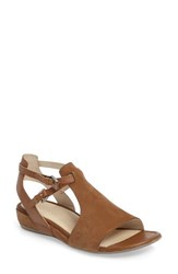 Ecco Women's 'Touch 25' Sandal Camel Leather