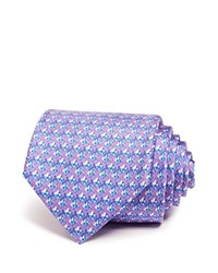 Bloomingdale's The Men's Store At Fish Classic Tie Lavender Blue