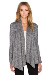 The Kooples French Terry Cardigan Gray