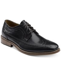 G.H. Bass And Co. Men's Clinton Wing Tip Oxfords Men's Shoes Black