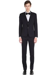 Dolce And Gabbana Light Virgin Wool Gabardine 3 Piece Suit