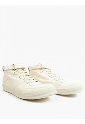 Officine Creative White Leather Paragon' Hi Top Sneakers