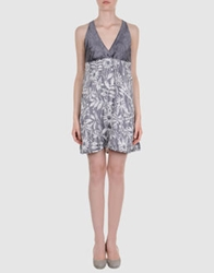 Freesoul Short Dresses Grey