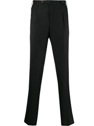 Pt01 Slim Fit Tailored Trousers Black