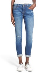 Women's Vigoss 'Tomboy Thompson' Destructed Jeans Medium Wash