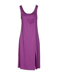 Parah Dresses Knee Length Dresses Women Mauve
