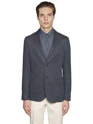 Boglioli Textured Cotton Jersey Casati Jacket