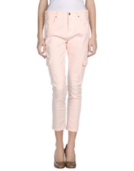 Met Denim Pants Pink