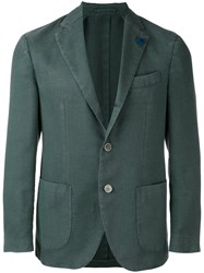 Lardini Two Button Jacket Green