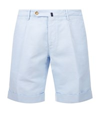 Slowear Tailored Shorts Male Light Blue