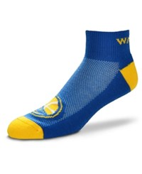 For Bare Feet Golden State Warriors The Cuff Ankle Socks Royalblue