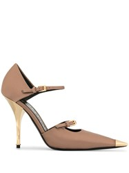 Tom Ford Mary Jane Pumps Pink