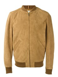 A.P.C. The Ferris Bomber Jacket Brown