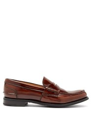 Church's Pembrey Leather Penny Loafers Tan