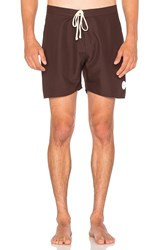 Saturdays Surf Nyc Colin Seamless Boardshort Burgundy
