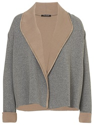 Betty Barclay Knit Jacket Grey Beige