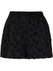 3.1 Phillip Lim Smocked Waist Shorts Black