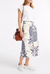 Sea Pineapple Skirt Ivory