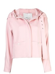 3.1 Phillip Lim Twill Hooded Jacket Pink