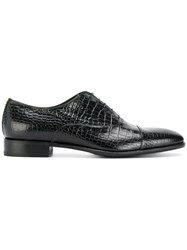 Roberto Cavalli Lace Up Shoes Calf Leather Leather Rubber Black