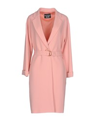 Boutique Moschino Overcoats Pink