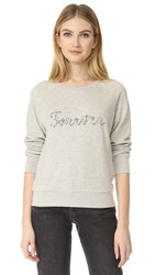 Paige Rosie Hw X Forever Sweatshirt Heather Grey