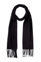 Amicale Solid Color Scarf Black