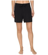 Next By Athena Good Karma Beachbreak Boardshorts Black Women's Swimwear