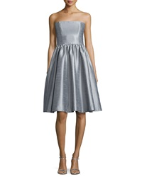 Donna Morgan Georgina Strapless Fit And Flare Dress