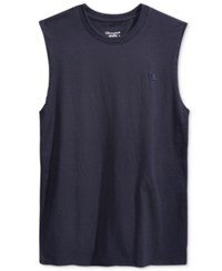 Champion Men's Jersey Muscle Tank Navy