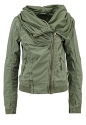 Khujo Jewel Summer Jacket Olive Green